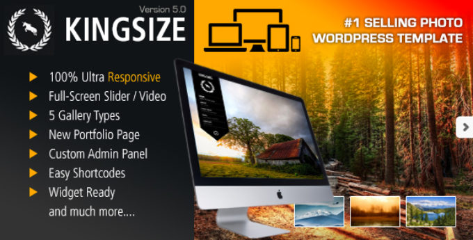 Change Log for KingSize WordPress version 5.1